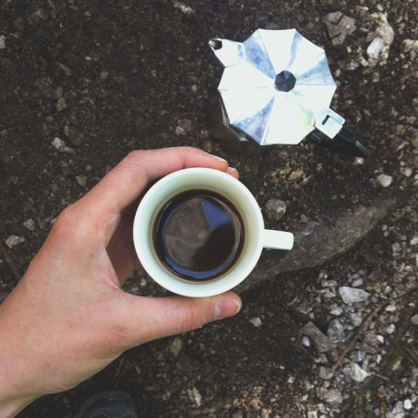 yesterday i had an espresso in the woods today couldhellip