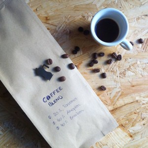 Look what I made  my very first coffee blend!hellip