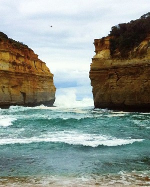Back at the coast driving the Great Ocean Road fromhellip