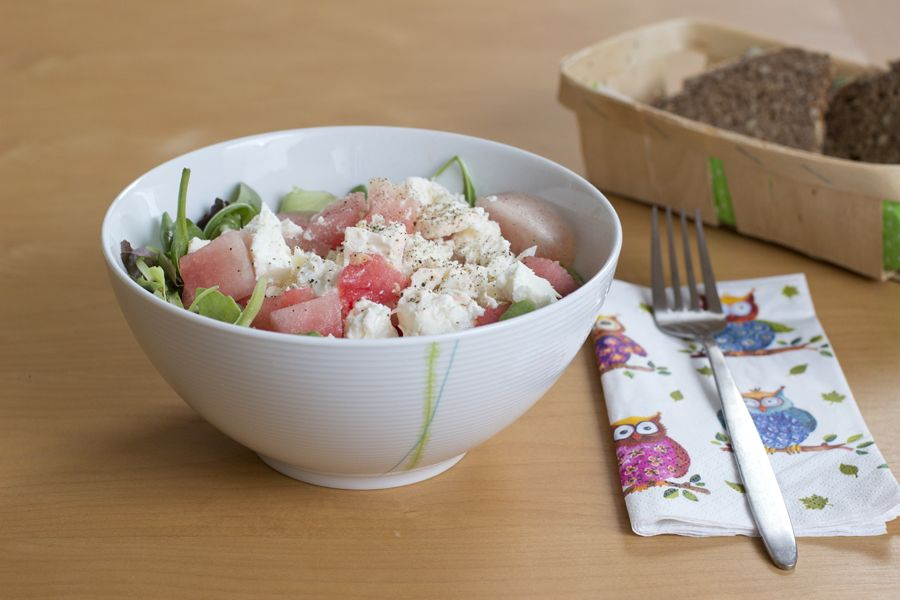 watermelon-goatcheese-salad-recipe-idea