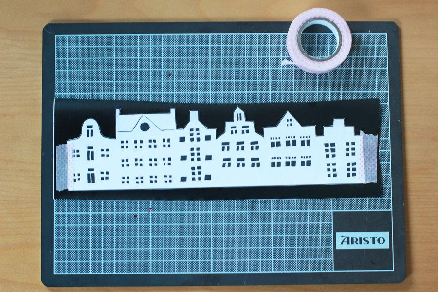 Amsterdam_skyline_cutting_board