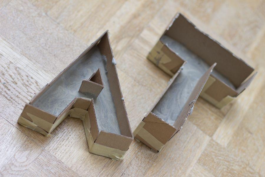 concrete_letters_hardening_process