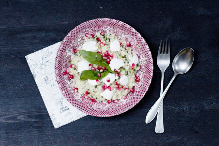wild-garlic-risotto-with-goat-cream-cheese