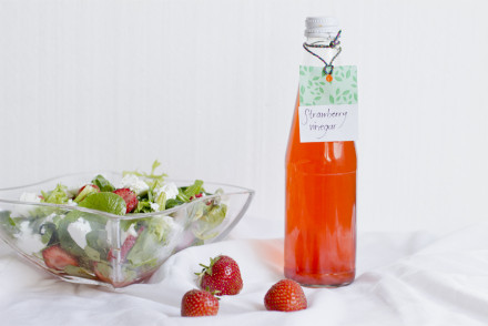 Strawberry infused vinegar | LOOK WHAT I MADE ...