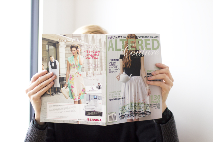 Altered Couture magazine feature   LOOK WHAT I MADE ...
