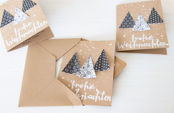 DIY Christmas card from paper scraps | LOOK WHAT I MADE ...