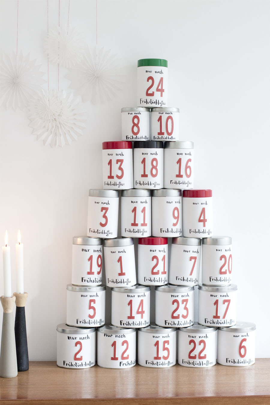 Illy Coffee Tin Advent Calendar Look What I Made