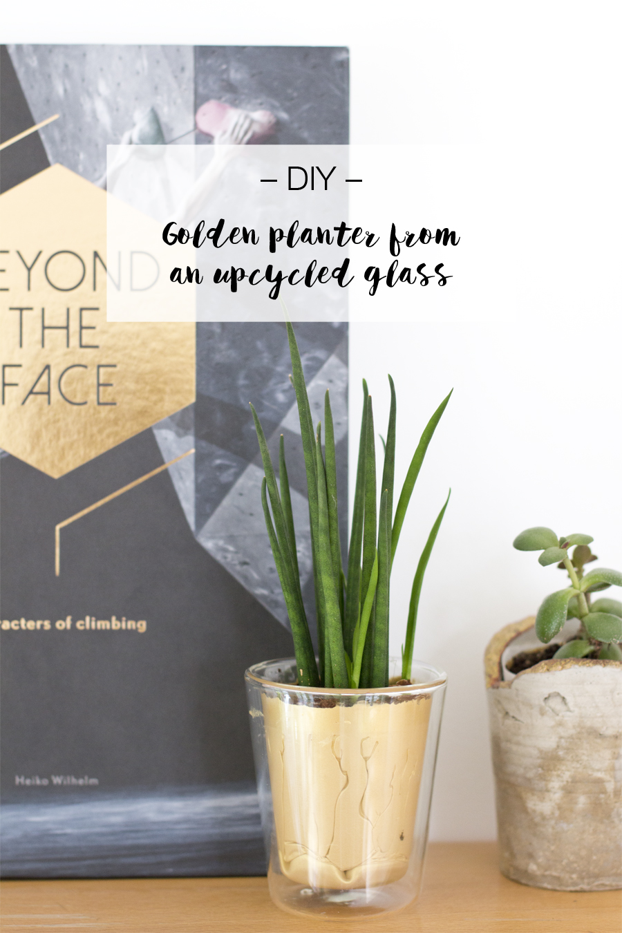 DIY gold planter upcycling project | LOOK WHAT I MADE ...