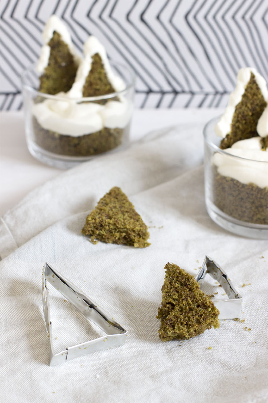 Matcha cake winter wonderland dessert | LOOK WHAT I MADE ...