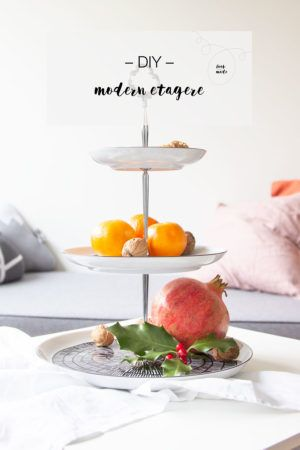 DIY modern etagere | LOOK WHAT I MADE ...