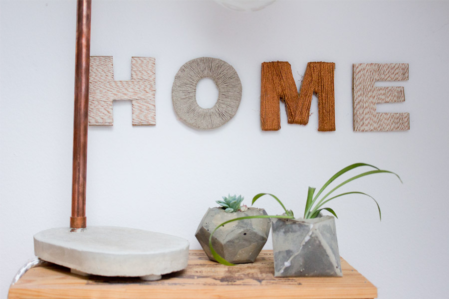 diy home wall decor letters