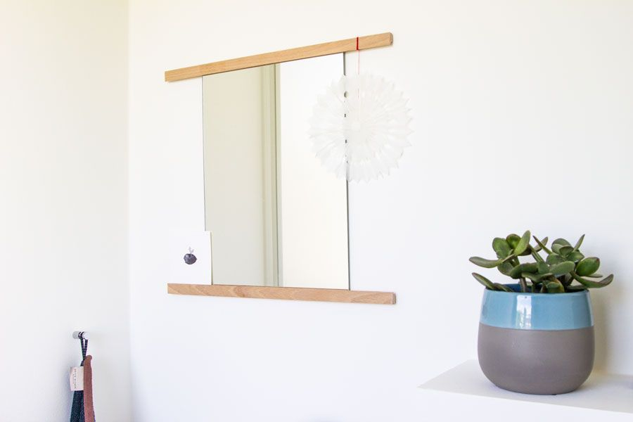 DIY for your home: bathroom mirror | LOOK WHAT I MADE ...