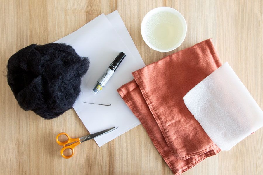 DIY modern felted cushion | LOOK WHAT I MADE ...