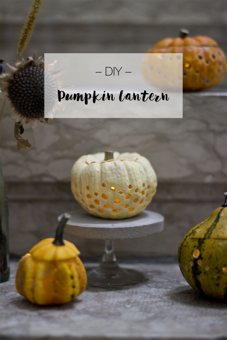 DIY pumpkin lantern | LOOK WHAT I MADE ...