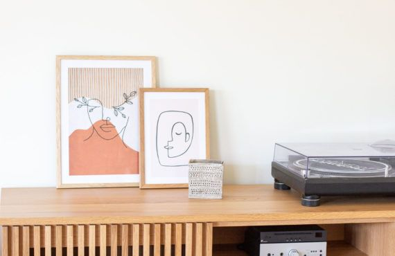 DIY: Unique poster art with embroidery