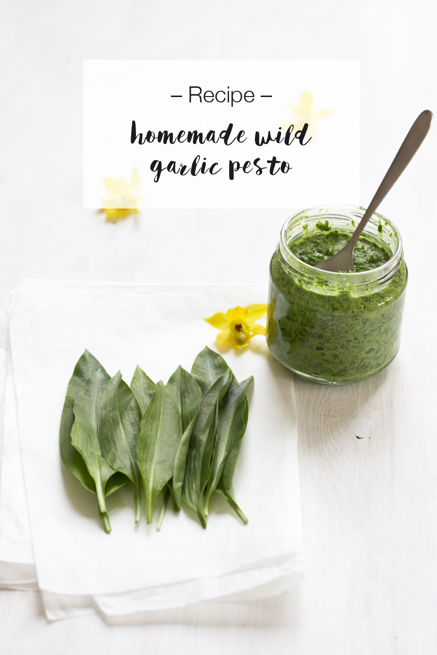 Homemade wild garlic pesto recipe | LOOK WHAT I MADE ...