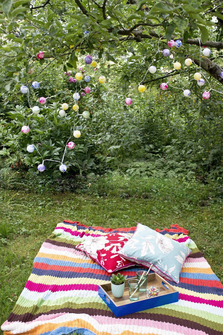 Lichterkette Fuer Den Garten Selber Basteln Look What I Made