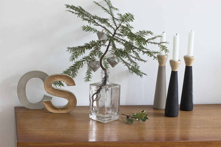 Concrete christmas tree hangers DIY | LOOK WHAT I MADE ...