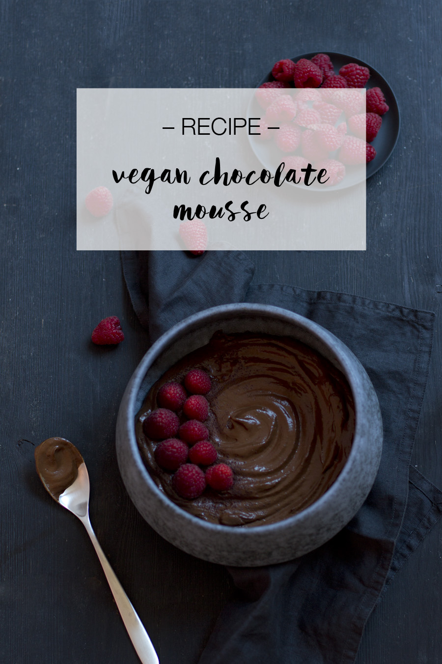 Vegan chocolate mousse recipe | LOOK WHAT I MADE ...