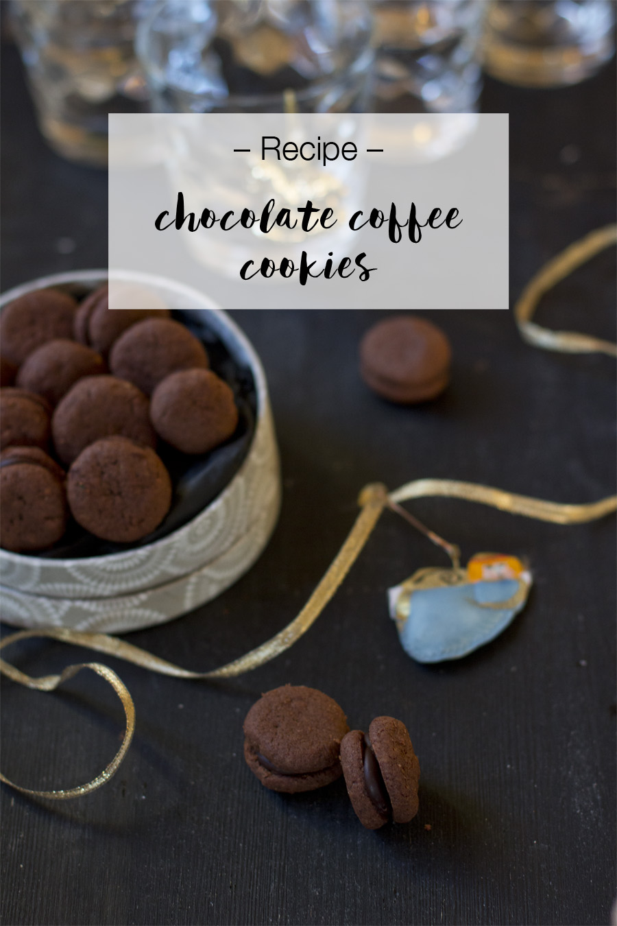 Chocolate and coffee christmas cookies | LOOK WHAT I MADE...