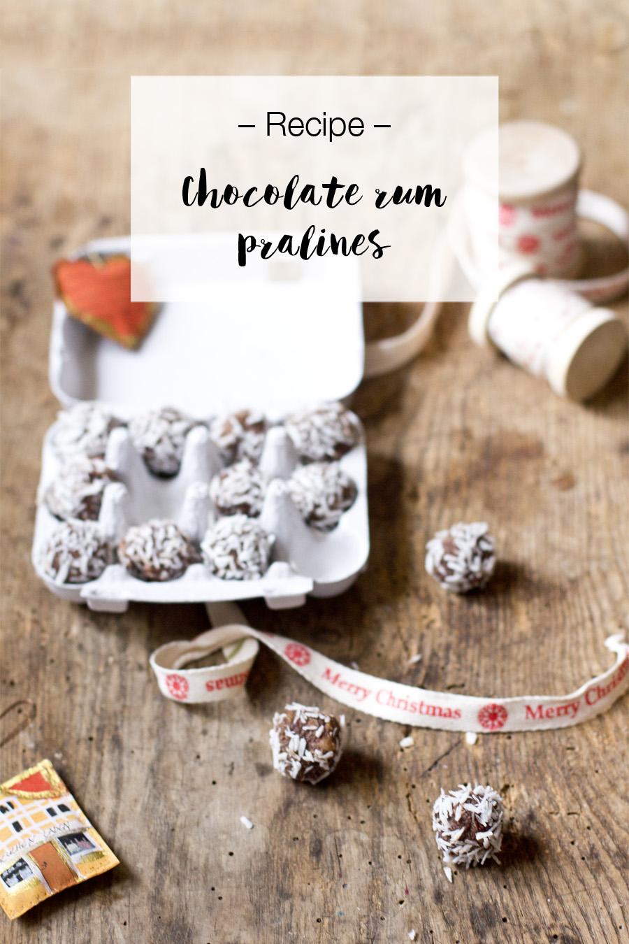 Chocolate rum pralines | LOOK WHAT I MADE ...