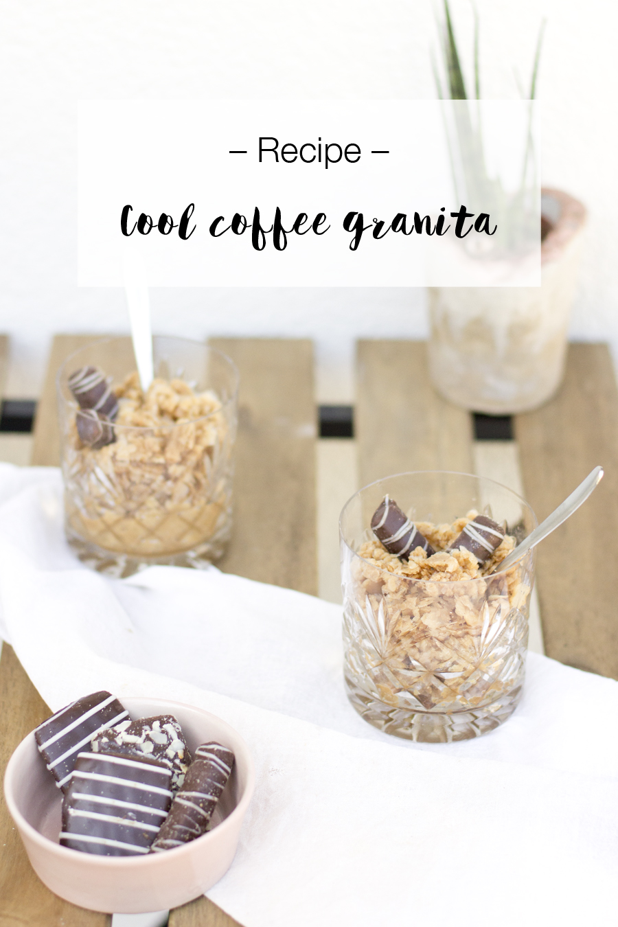 Illy coffee granita recipe | LOOK WHAT I MADE ...