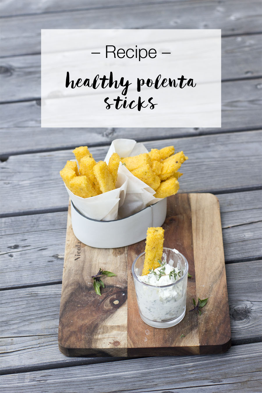 Healthy polenta sticks | LOOK WHAT I MADE ...
