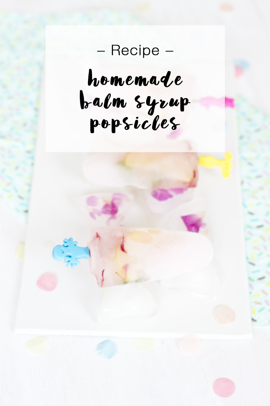 Delicious healthy popsicle from homemade syrup | LOOK WHAT I MADE ...