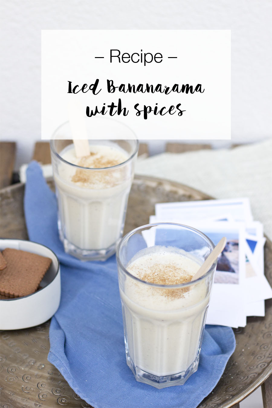 Oldschool bananarama smoothie with spices | LOOK WHAT I MADE ...