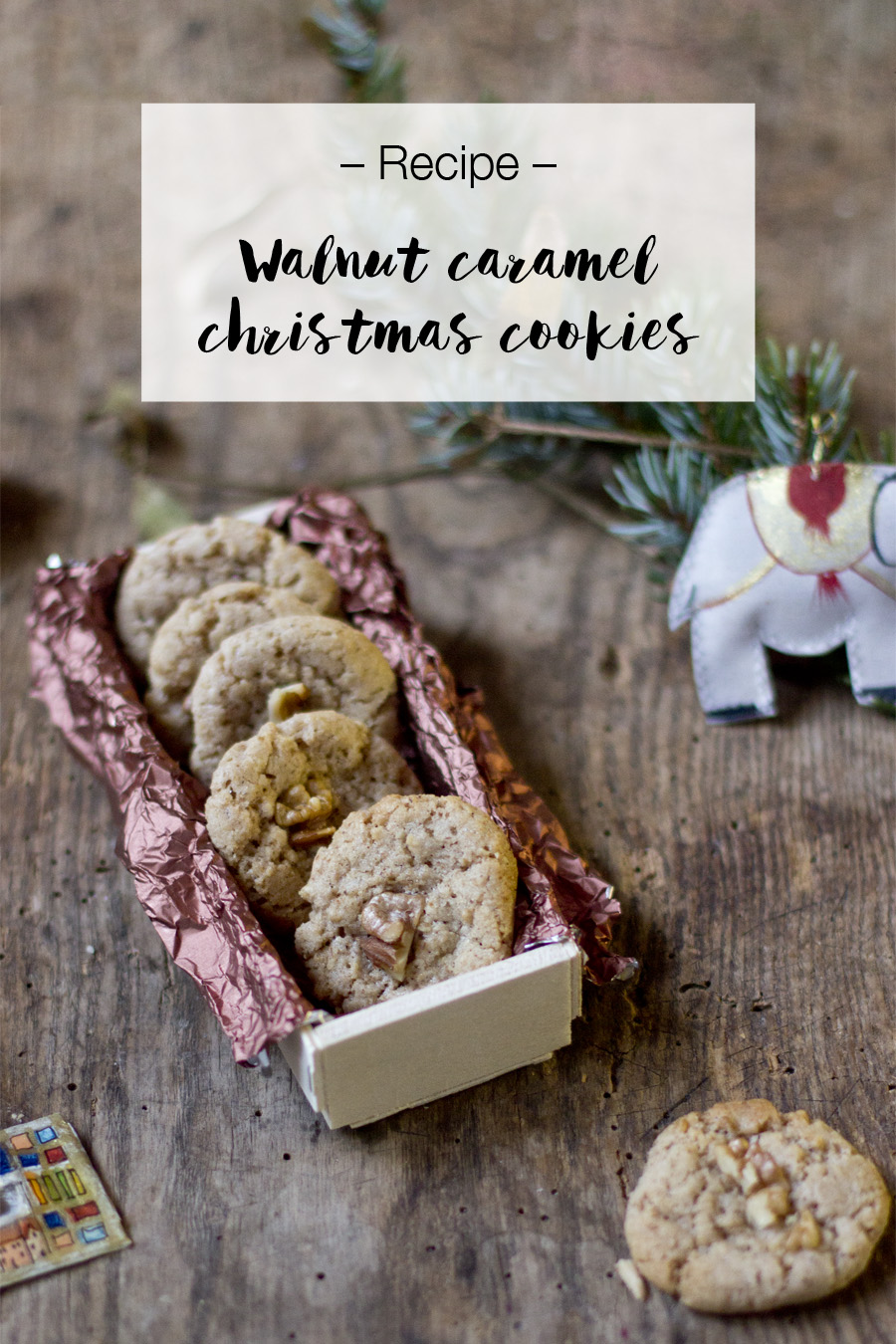 Walnut caramel cookies | LOOK WHAT I MADE ...