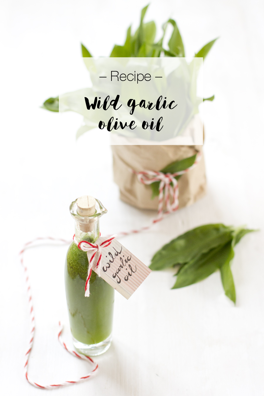Wild garlic oil | LOOK WHAT I MADE ...