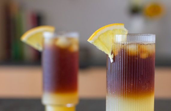 Refreshing coffee mocktail recipe