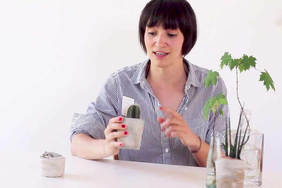 Sarah Halbeisen Skillshare Class: DIY cement cup
