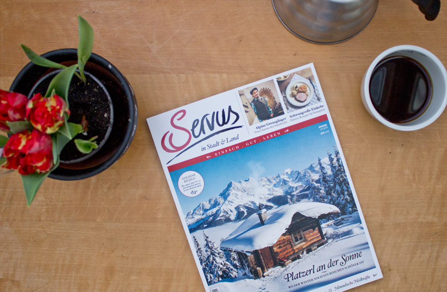 Servus magazine january issue
