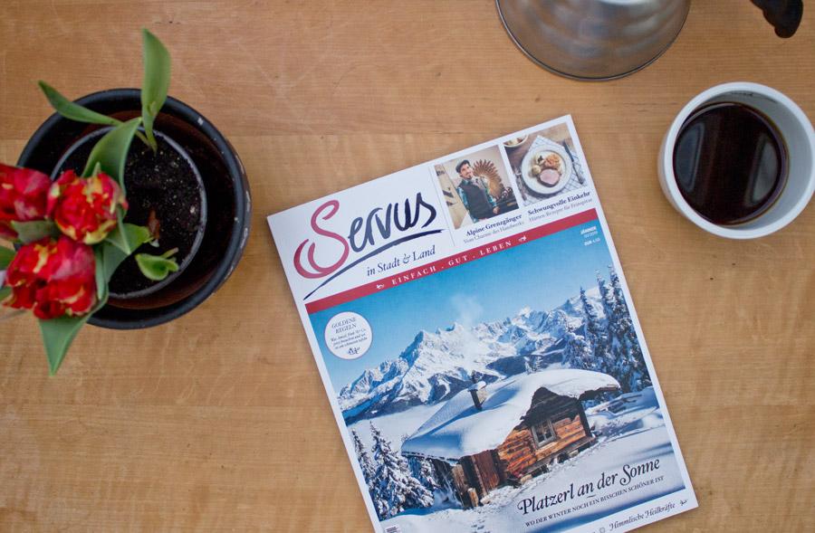 Servus magazine january issue