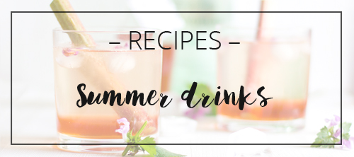 LOOK WHAT I MADE ... summer drink recipes
