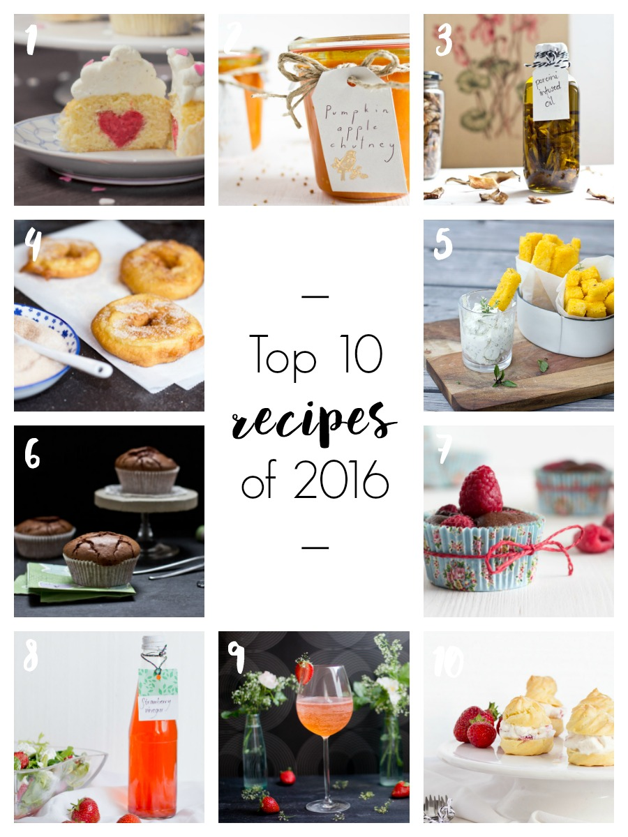 Top 10 recipes of 2016 | LOOK WHAT I MADE ...