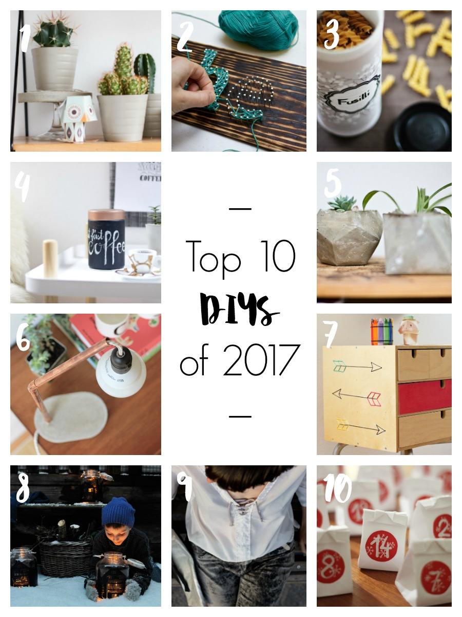 Top 10 DIYs of 2016 | LOOK WHAT I MADE ...
