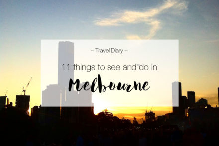 11 things to see and do in Melbourne | LOOK WHAT I MADE ...