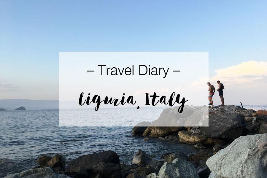 Travel Diary Liguria, Italy | LOOK WHAT I MADE ...