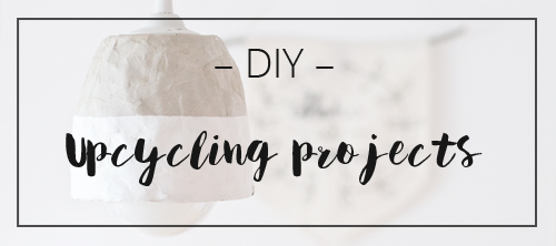 LOOK WHAT I MADE ... upcycling projects