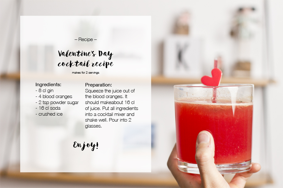 Valentine's Day drink recipe: A blood orange and gin cocktail | LOOK WHAT I MADE ...