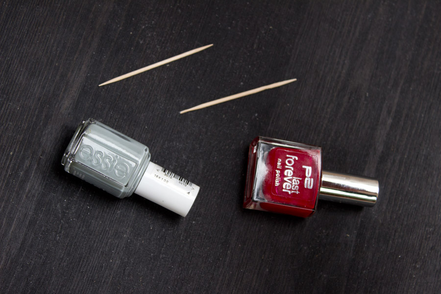 Valentine's Day nail art supplies