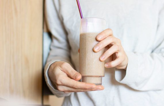 Recipe: breakfast smoothie with coffee