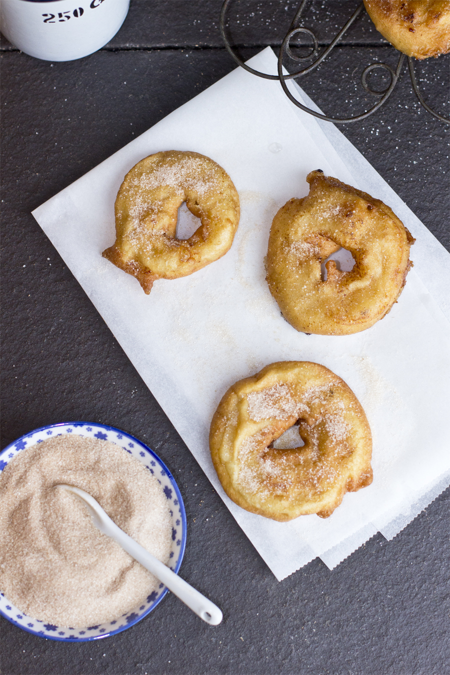 Delicious apple donuts recipe | LOOK WHAT I MADE ...