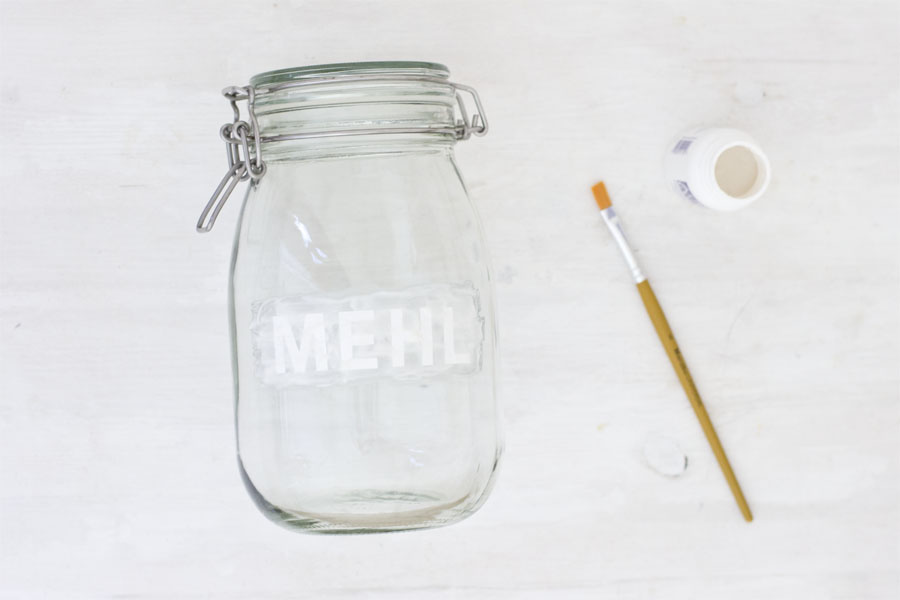 Colored etched storage jars DIY   LOOK WHAT I MADE ...