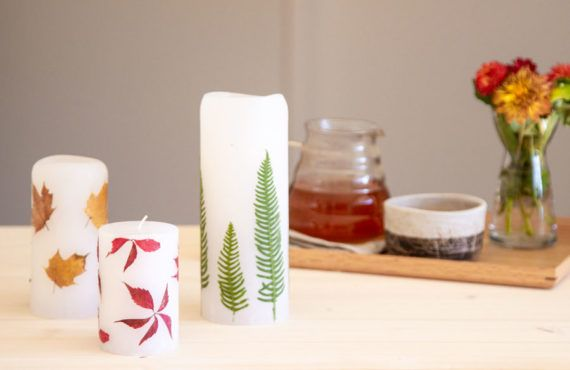 Autumn themed candles DIY | LOOK WHAT I MADE ...