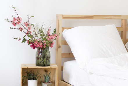 Spring styling for the bedroom | LOOK WHAT I MADE ...