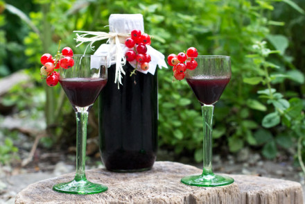 Easy summer drink: easy blackcurrant liqueur recipe