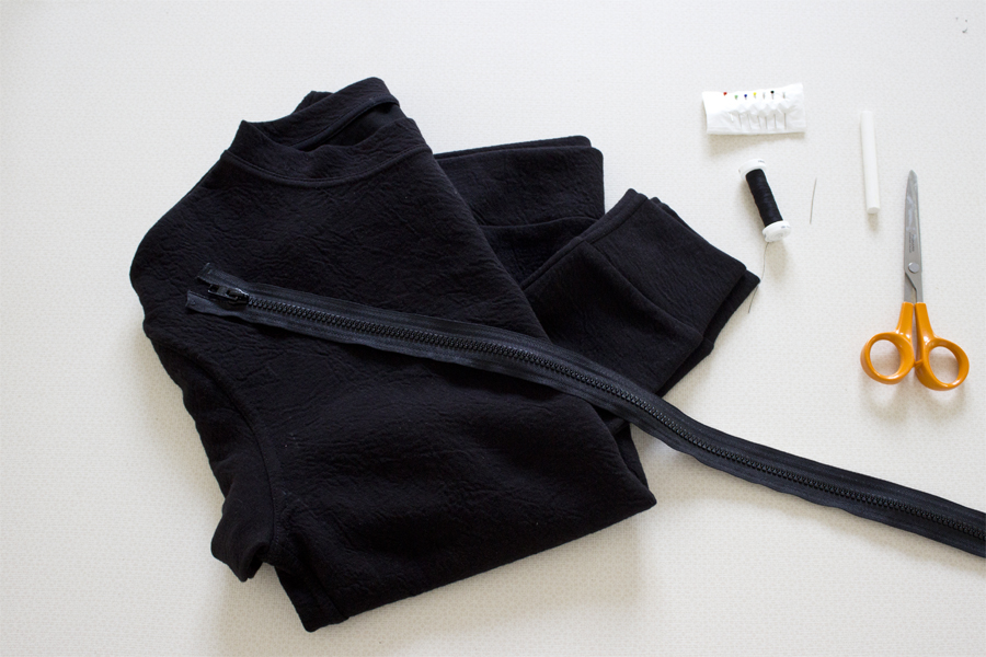 How to make a bomber jacket out of a sweater   LOOK WHAT I MADE ...